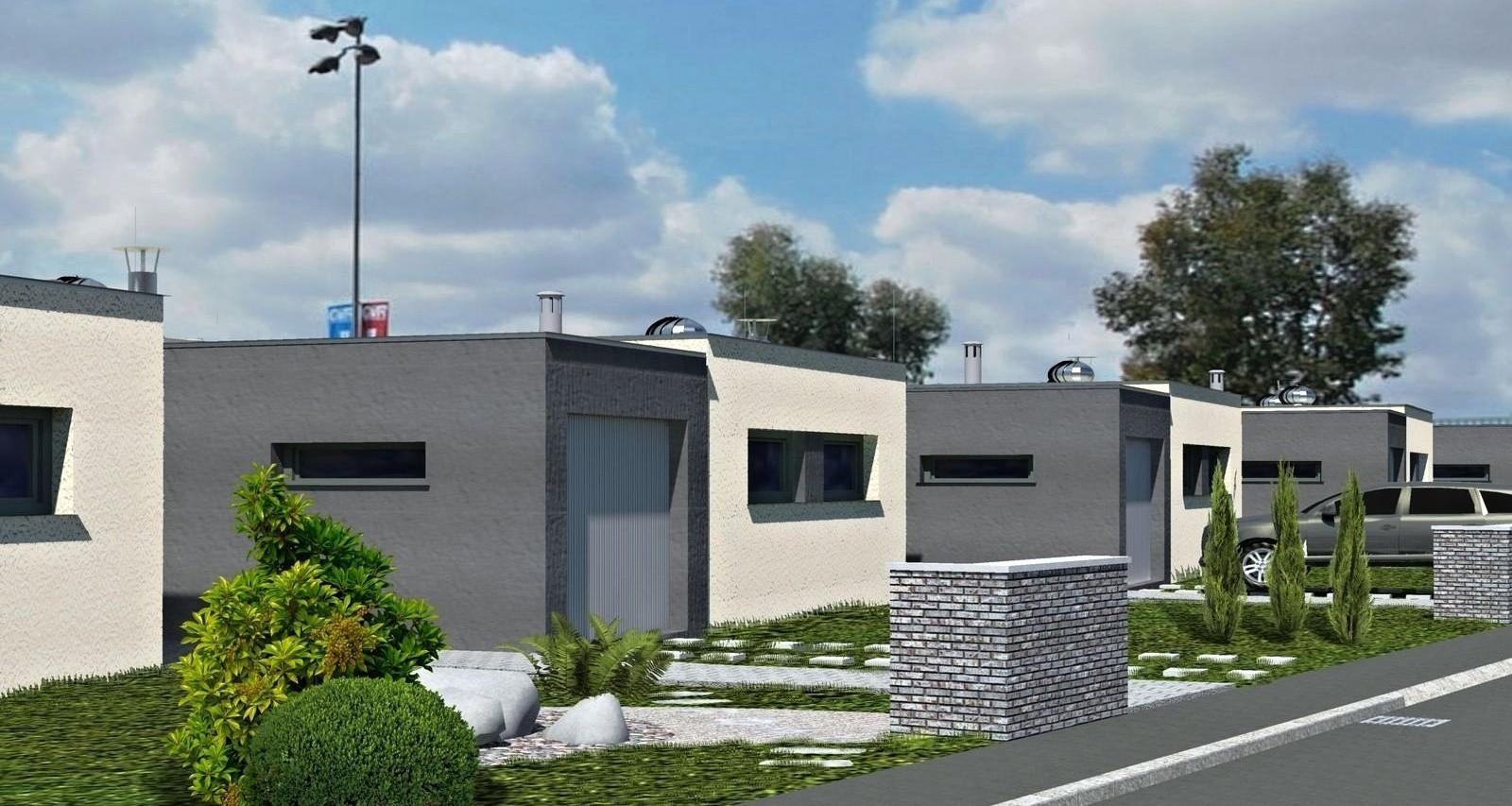 Atriové domy Jahodnice